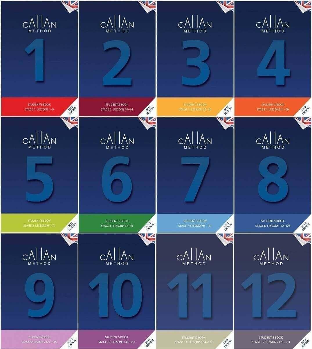 12 Bücher der Callan-Methode
